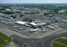 Aeroporto de Nanes Atlantique - França ** Indicativo IATA: NTE ; ICAOI: LFRS TIPO: CIVIL