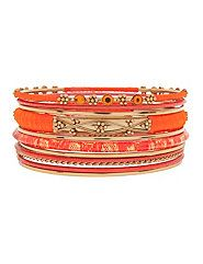 11-pc. bangle bracelet set by Lane Bryant