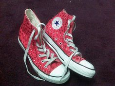 Bedazzled Chuck Taylors