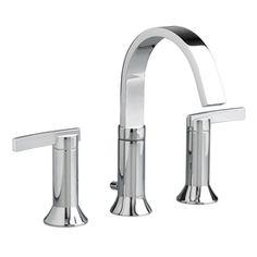 American Standard Berwick Polished Chrome 2-Handle Widespread WaterSense Bathroom Sink Faucet (Drain Included)
