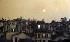 Daniel Worth - Full moon over Alcudia