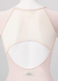 Ballet leotard / Tulle 3D Leotard |Dance & Ballet Wear manufacturer & shop made in Japan|-Dance & Ballet Products Brand - MARTY
