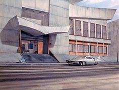 S.H.A.D.O. headquarters, U.F.O. television series