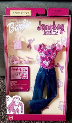 6880cffd94 2001 Barbie  Jumpkey  Fashion Avenue Fashion  DollswithClothingAccessories