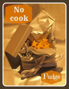 NO COOK fudge - a lovely gift for kids to make for their family and friends. Perfect for CHRISTMAS! Christmas Activities For Kids, Christmas Gifts For Kids, Christmas Treats, Xmas, Best Camping Meals, Christmas Cake Decorations, Edible Crafts, Baking With Kids, Cake Decorating Supplies