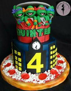 Ninja Turtles cake Ninja Turtles Cakes Pinterest Ninja turtles