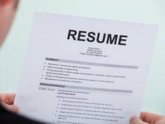 If you want to make it past the initial test, you need to have some solid qualifications — and the perfect résumé to highlight them.