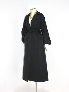 Vintage BILL BLASS for Bond Street Black Full by StatedStyle