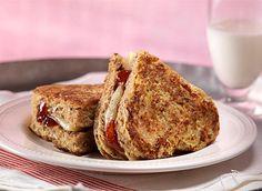 Sandwichs Monté Cristo de la Saint-Valentin recette | Plaisirs laitiers