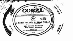 I Think I'll Fall In Love Today - Don Cornell, Allen Dale, And Johnny De...