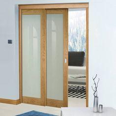 Oak Pocket Doors – Page 5 Oak Doors With Glass, Solid Oak Doors, Balcony Grill Design, Oak Front Door, Wooden Sliding Doors, Veneer Door, Oak Panels, Fire Doors, Door Furniture