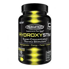 A Muscletech HydroxyStim egy megadózisú, szuper koncentrált termogenikus formula