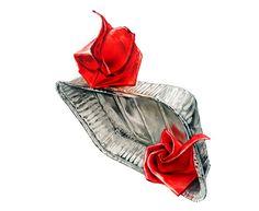 '기초디자인'유형 사각 은박접시, 종이장미 시범수업 작품 : 네이버 블로그