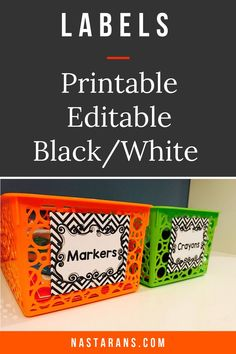 Labels printable contains blank editable labels. Perfect for organizing around your classroom or home .  Use these template for any occasions to specialized the gifts for your students or friends at school. Since these are black and white, you can print them so simple .#labels#printableLabels#classroomdecor