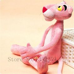 Pink Panther Plush toys stuffed doll Soft Toys Pink Leopard kawaii gift for kids 1pcs 40cm #clothing,#shoes,#jewelry,#women,#men,#hats,#watches,#belts,#fashion,#style