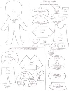 girl scout coloring pages | Brownie girl scouts coloring pages - Coloring Pages & Pictures ...