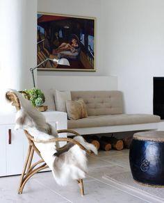 Cozy Living Space.Justine Hugh Jones Design//