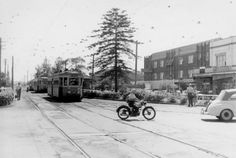 Tram travel on Anzac Parade., Maroubra Junction, Sydney, Australia v Bronte Beach, Sydney Beaches, As Time Goes By, Modern Pictures, Local History, Street Photo, Sydney Australia, City Streets, Back In The Day