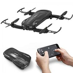 Syma Foldable Mini Quadrocopter With Camera Hd Fpv Real Time Transmission Rc Helicopter App Control Pocket Quadcopter Rc Drone, Drone Quadcopter, Drones, Fly App, Selfie Kamera, Aircraft Sales, App Control, Rc Helicopter