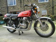 1976 Honda - A Very Nice Appreciating Classic Kawasaki Vulcan 800, Honda Models, Honda Cb750, Stay Classy, Bike Design, Sport Bikes, Custom Bikes, F1, Cool Cars