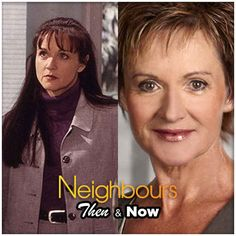 Susan Kennedy 10 Classic Neighbours Characters - Then And Now Audrey Fluerot, Hollyoaks, Good Neighbor, First Tv, Home And Away, Then And Now, Female Characters, Favorite Tv Shows, Melbourne