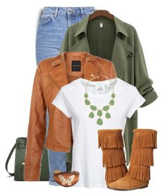 """Untitled #453"" by tinkertot ❤ liked on Polyvore featuring Merona, Topshop, Cheap Monday, Minnetonka and Monet"