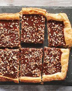 Chocolate Caramel Pecan Tart.