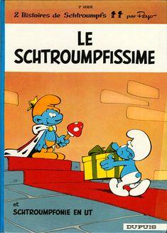 Schtroumpfs (Les) -2- Le Schtroumpfissime (+ Schtroumpfonie en ut) - BD