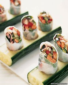 Finger Food is underated and can be exotic like this or simple and cheaper on the pocketbook!