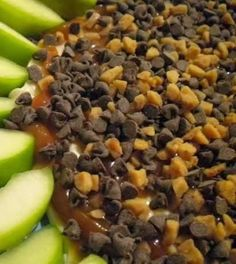Apple Crack Dip ~ Definitely recommend serving with Graham Crackers as that was more popular than the apples! Great recipe!