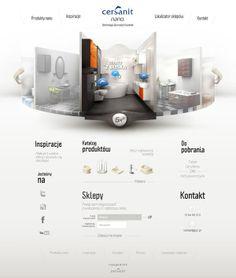 Ideas & Inspirations für Web Designs Cersanit Schweizer Webdesign http://www.swisswebwork.ch