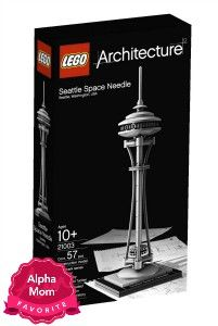 """Lego Architecture Play Sets are great for play and also as a keepsake. Perfect for the older Lego aficionado. On Alpha Mom's """"Forever"""" Hit Toys List (aka Toys with Staying Power)."""