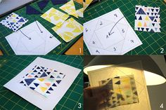 Economy block paper piecing tutorial