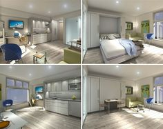 Micro Loft Tiny Apartments in Vancouver Rent for $850 a Month, Under 300 Square Feet
