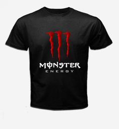 Monster Energy T shirt  New Style Red Colour T by alinasikinshop, $13.99