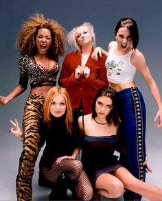 Spice Girls - Haha I remember the playbacking with my friends. Guess who I had to play every time?? Thank God my rap game was alright! :D