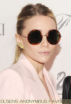 Olsen Anonymous round sunglasses