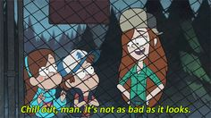 Remember: things are usually better than they seem… | 17 Gravity Falls GIFs To Brighten Up Your Day