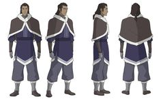 Younger Unalaq.  That's it. I'm moving to the Water Tribe.