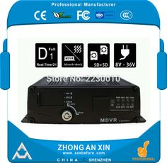 MDVR 4CH Dual Mini SD Card VOZIDLA Mobile DVR