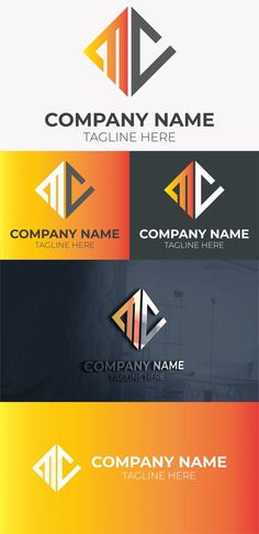 initial mc letter logo free template Free Logo Templates, Great Logos, Letter Logo, Company Names, Mockup, Initials, How To Memorize Things, Logo Design, Lettering