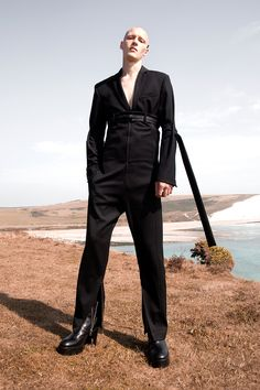 """Called """"State Of Mine"""", this is the debut collection from Lukas Neo. It's an exploration of raw emotions, sexuality, nerves, and stillness all at the same time. Look Fashion, World Of Fashion, Mens Fashion, Fashion Design, Guy Fashion, Queer Fashion, Fashion Photography Art, Best Fashion Photographers, Men Beach"""