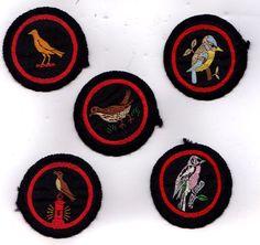 Vintage Girl Guide Bird Patches Girl Guides, Scouting, Vintage Girls, Badges, Ephemera, Patches, Bird, Logo, Logos