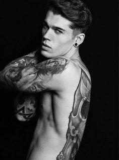 #tattoos #hot guy