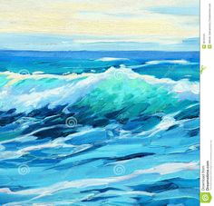 morning-sea-wave-illustration-painting-oil-canvas-38734101.jpg 1,346×1,300 pixels