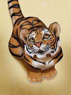 tiger cub by https://trunchbull.deviantart.com on @DeviantArt