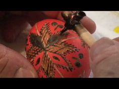 The egg has been a symbol of life in the Ukraine and other Slavic countries since ancient times. It was customary to give decorated eggs denoting stages of life in the spring. Colorful symbols representing nature and passed from mother to daughter enlivened the surfaces of eggs called pysanky. This video demonstrates the art of pysanky.