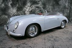 Down memory lane :  mine was burgandy ...... 1957 Porche Speedster ... upgraded to a 1960 a few years later.  (((sigh)))