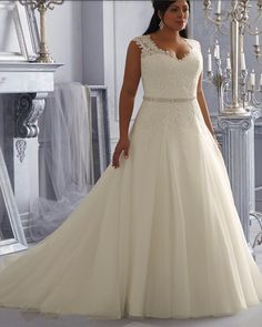 Ivory Organza Bridal Gown Bridal Gown Plus Size 2015 Wedding Dresses