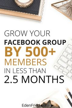 Not sure how to get people to join your Facebook group? Want to learn the secrets about how to grow a Facebook group quickly and effectively? I share my tips on how I grew to nearly 600 members in less than 3 months. Learn more.